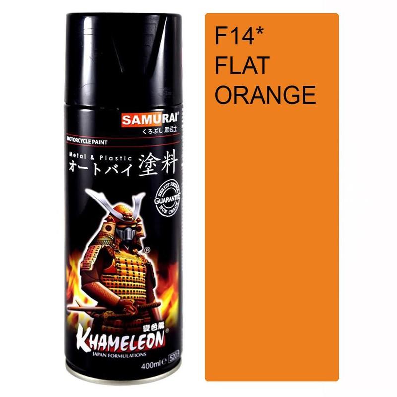 115 _ Sơn xit Samurai 115  màu cam sáng  Light Scarlet  giá rẻ, Tốt , ship nhanh 16
