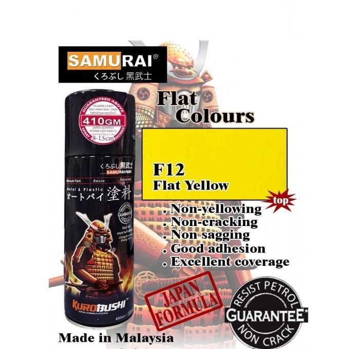 1728 _ Chai sơn xịt sơn xe máy Samurai 1728 màu vàng tươi shop uy tín, giao nhanh 7
