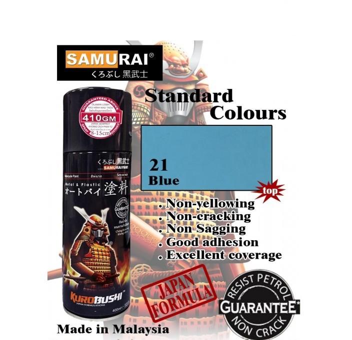 312 _ Sơn xit Samurai 312 màu xanh dương_ Blue _ Tốt, ship nhanh, giá rẻ 2