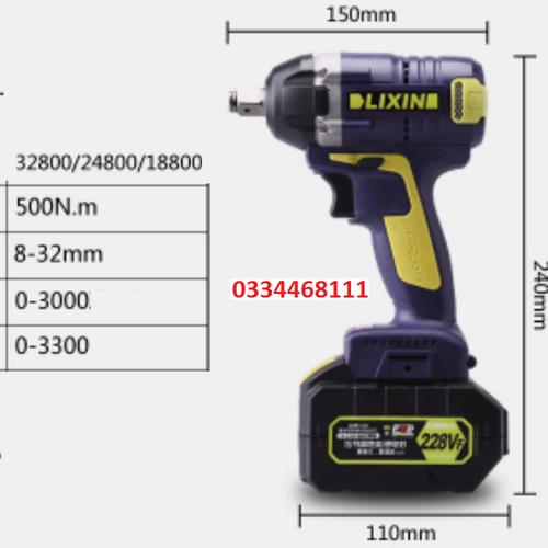 máy bắn bulong 2pin- QWKY9692 - 8393092 , 17832663 , 15_17832663 , 2249000 , may-ban-bulong-2pin-QWKY9692-15_17832663 , sendo.vn , máy bắn bulong 2pin- QWKY9692