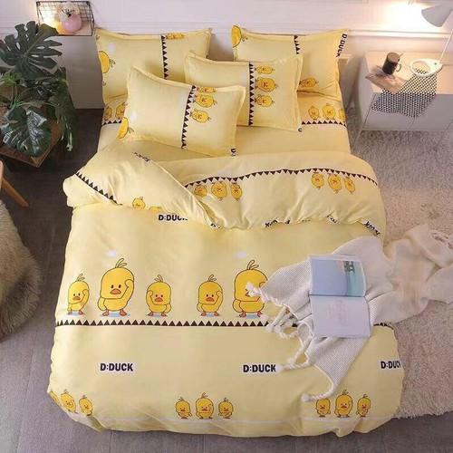 Bộ chăn ga gối phong cách Hàn Quốc cute duck vàng. - 11519956 , 17422707 , 15_17422707 , 550000 , Bo-chan-ga-goi-phong-cach-Han-Quoc-cute-duck-vang.-15_17422707 , sendo.vn , Bộ chăn ga gối phong cách Hàn Quốc cute duck vàng.