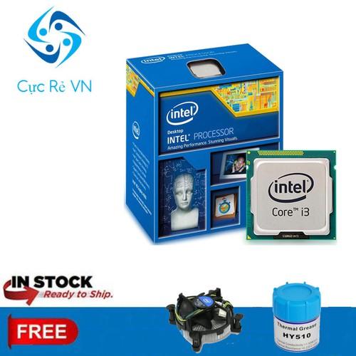 Chip Xử Lý Máy Tính Intel CPU Core I3 4130 2 lõi - 4 luồng
