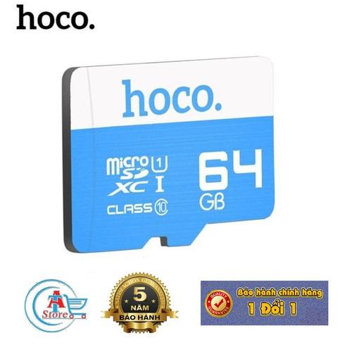 Thẻ Nhớ Micro SD Hoco 64G 95MBs Class 10 Chính Hãng