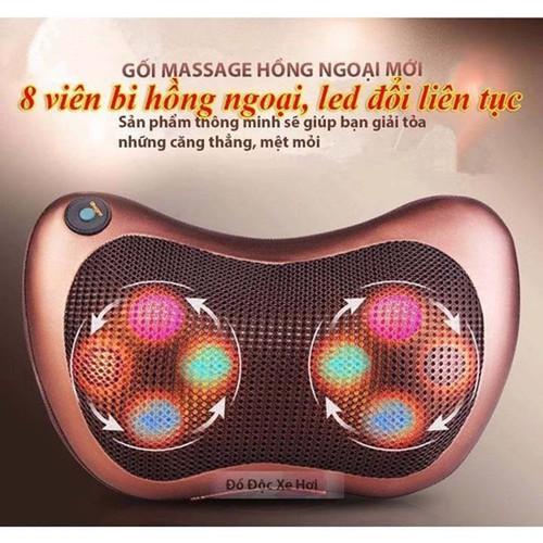 Gối Massage Hồng Ngoại 8 Bi - 8884115 , 18048959 , 15_18048959 , 307000 , Goi-Massage-Hong-Ngoai-8-Bi-15_18048959 , sendo.vn , Gối Massage Hồng Ngoại 8 Bi