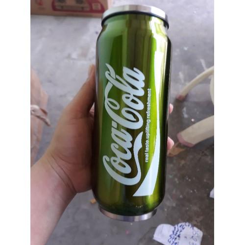 Bình giữ nhiệt hình lon Coca trọn 5 món