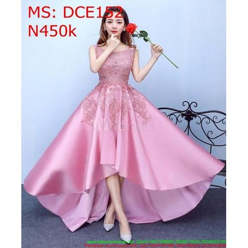 Đầm dự tiệc xòe màu hồng vải ren phi bóng DCE152 - 7550721 , 17413433 , 15_17413433 , 450000 , Dam-du-tiec-xoe-mau-hong-vai-ren-phi-bong-DCE152-15_17413433 , sendo.vn , Đầm dự tiệc xòe màu hồng vải ren phi bóng DCE152