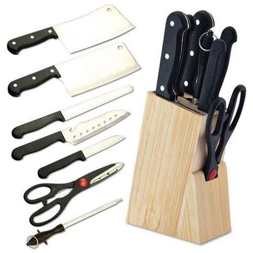 Bộ dao kéo hợp kim Inox 7 món đa năng Tặng kèm khay gỗ - 8883966 , 18048791 , 15_18048791 , 167000 , Bo-dao-keo-hop-kim-Inox-7-mon-da-nang-Tang-kem-khay-go-15_18048791 , sendo.vn , Bộ dao kéo hợp kim Inox 7 món đa năng Tặng kèm khay gỗ