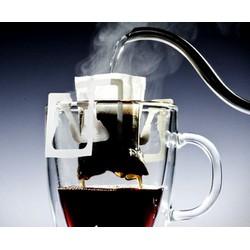Gói phin giấy có sẵn cà phê và đường