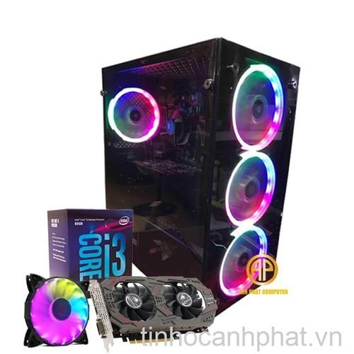 Máy tính chơi game i3 8100 Ram 8GB Hdd 250GB Ssd 120GB Vga GTX 1060 3GB