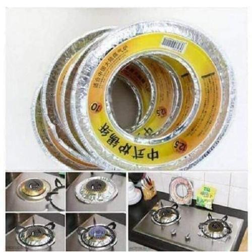 Vỉ bạc lót bếp ga chống bám bẩn thông minh