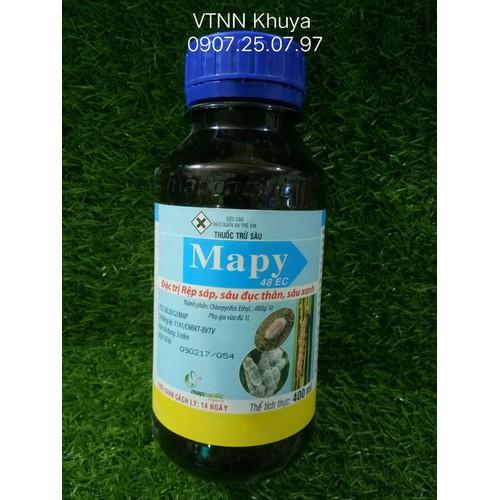 Thuốc trừ sâu Mapy 48EC Đặc trị Rệp sáp Sâu đục thân Sâu xanh 400ml