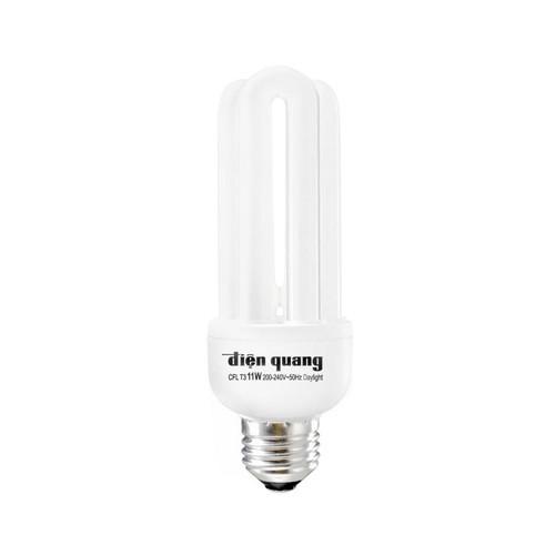 Bóng Compact, bóng huỳnh quang, bóng U 14W Điện Quang - Ánh sáng trắng - ĐIỆN VIỆT UY TÍN
