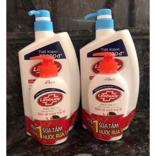Sữa Tắm Lifebouy Mát Lạnh Sảng Khoái 850g tặng Nước rửa tay - 7669321 , 17427381 , 15_17427381 , 145000 , Sua-Tam-Lifebouy-Mat-Lanh-Sang-Khoai-850g-tang-Nuoc-rua-tay-15_17427381 , sendo.vn , Sữa Tắm Lifebouy Mát Lạnh Sảng Khoái 850g tặng Nước rửa tay