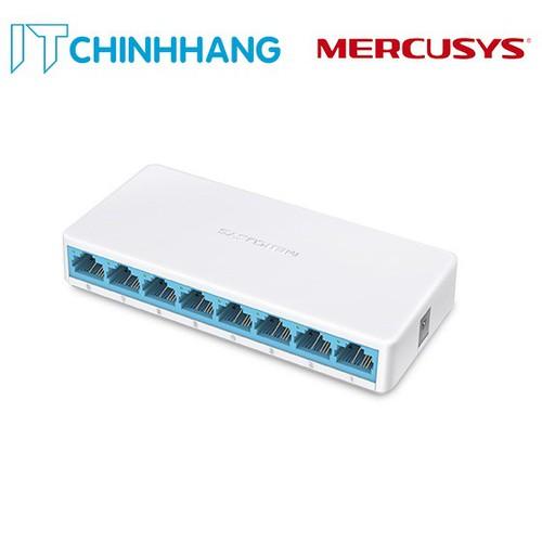 Bộ Chia Mạng Switch Mercusys MS108 8 Cổng - Hàng Chính Hãng