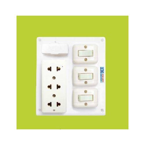 Bảng điện 1 cầu chì 3 công tắc 1 ổ cắm Sopoka - ĐIỆN VIỆT UY TÍN - 7553365 , 17427779 , 15_17427779 , 83000 , Bang-dien-1-cau-chi-3-cong-tac-1-o-cam-Sopoka-DIEN-VIET-UY-TIN-15_17427779 , sendo.vn , Bảng điện 1 cầu chì 3 công tắc 1 ổ cắm Sopoka - ĐIỆN VIỆT UY TÍN