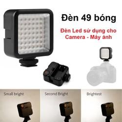 Đèn Flash Mini W49 cho máy ảnh máy quay phim - 49 bóng
