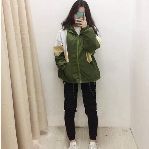 áo khoác dù from rộng chống nắng