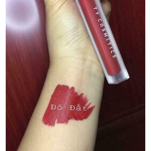son kem lì ty cosmetics màu đỏ đất - 7908769 , 17423798 , 15_17423798 , 105000 , son-kem-li-ty-cosmetics-mau-do-dat-15_17423798 , sendo.vn , son kem lì ty cosmetics màu đỏ đất