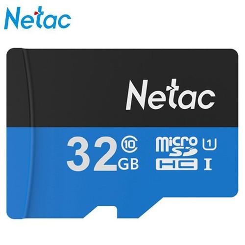 Thẻ nhớ Netac 32GB Class 10 cho điện thoại, máy ảnh, camera