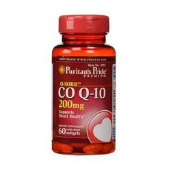 Viên uống hỗ trợ tim mạch Puritan's Pride QSorb CO Q-10 200mg 60 viên