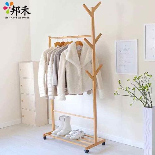 Kệ treo quần áo đa năng bằng gỗ - 11516673 , 17414794 , 15_17414794 , 245000 , Ke-treo-quan-ao-da-nang-bang-go-15_17414794 , sendo.vn , Kệ treo quần áo đa năng bằng gỗ