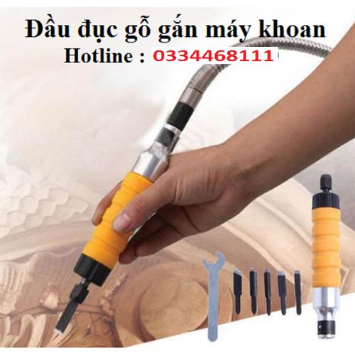 Bộ chuyển đổi máy khoan thành máy đục gỗ - MXZX3676 - 7708899 , 17812814 , 15_17812814 , 389000 , Bo-chuyen-doi-may-khoan-thanh-may-duc-go-MXZX3676-15_17812814 , sendo.vn , Bộ chuyển đổi máy khoan thành máy đục gỗ - MXZX3676