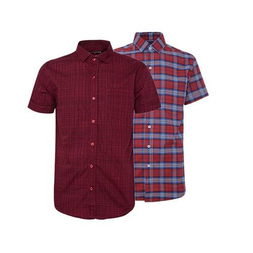 Combo 2 áo sơ mi nam sọc caro phong cách mới SMC172