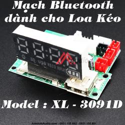 Mạch Bluetooth sửa loa kéo 3091D , loại tốt âm thanh cực hay