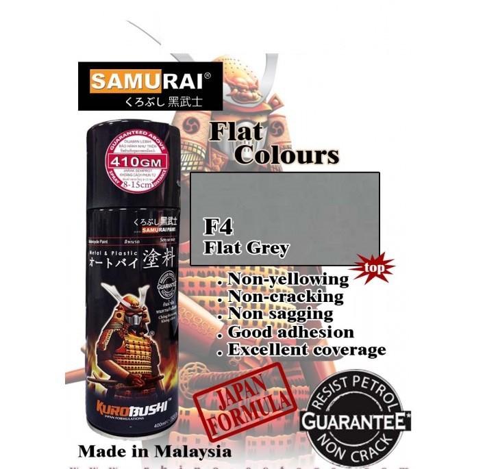 104 _ Sơn xit Samurai 104 màu xám _Grey _ Tốt, ship nhanh, giá rẻ 2