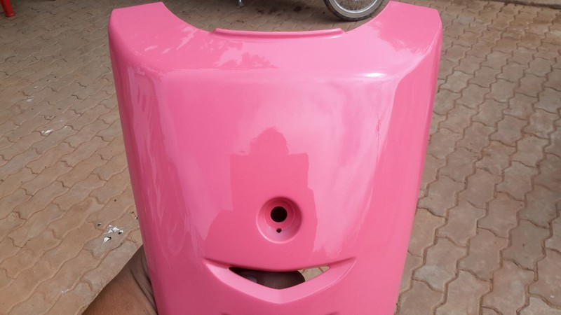 113 _ Chai sơn xịt sơn xe máy Samurai 113 màu hồng _  Pink , shop uy tín, giao nhanh, giá rẻ 5