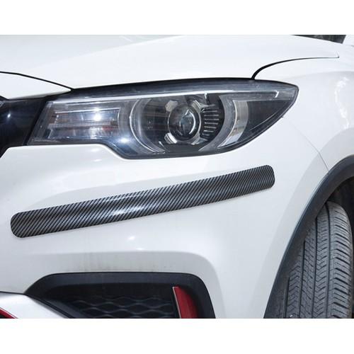 cao su vân carbon dán trang trí chống xước xe hơi size