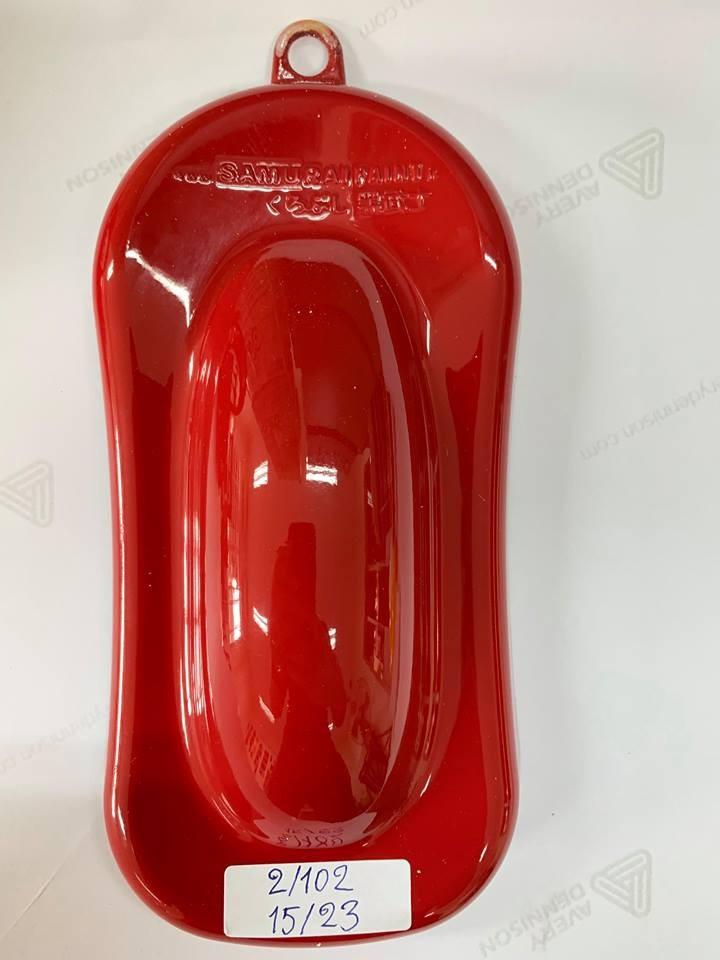 23 _ Chai sơn xịt sơn xe máy Samurai 23 màu đỏ nổi bật _ 23 Red Samurai _ shop uy tín, giao hàng nhanh 4