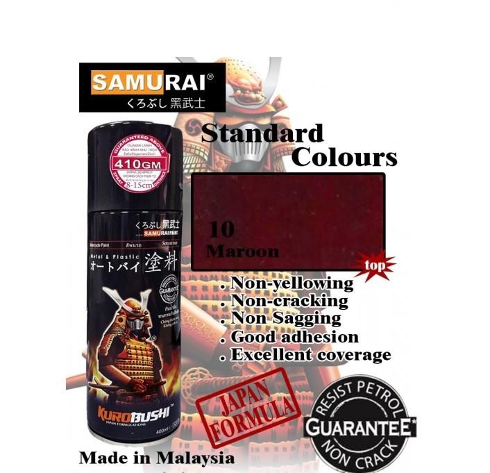 38 _ Chai sơn xịt sơn xe máy Samurai 38 màu hạt dẻ _ Maroon _shop uy tín, giao hàng nhanh, giá rẻ 2