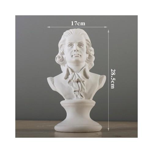 Tượng Thần đồng âm nhạc Mozart 28.5cm