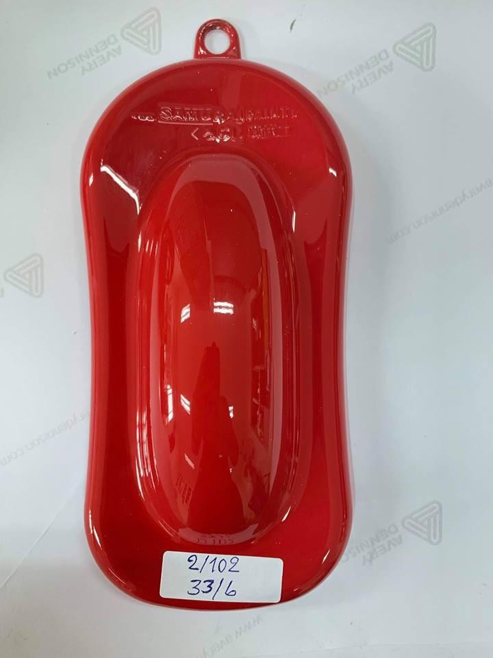 6 _ Chai sơn xịt sơn xe máy Samurai 6 màu đỏ _ Red _ shop uy tín, giao hàng nhanh 3