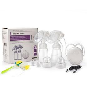Máy hút sữa 2 bình - Máy hút sữa Real bubee - Máy Real bubee an toàn và tiện lợi - kích cho sữa mẹ nhanh về