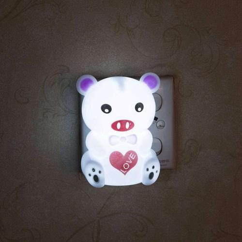Đèn ngủ hình Gấu có Led sáng - 7669911 , 17434368 , 15_17434368 , 79000 , Den-ngu-hinh-Gau-co-Led-sang-15_17434368 , sendo.vn , Đèn ngủ hình Gấu có Led sáng