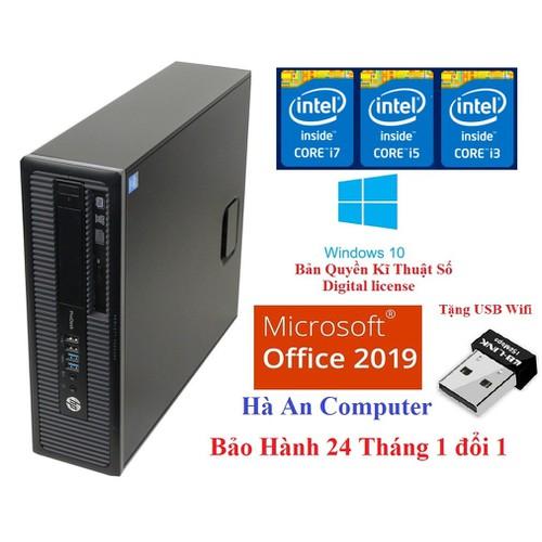 Cây Máy Tính i5 Siêu Nhanh HP ProDesk 600 G1 H03 CPU i5 4570, Ram 4gb, SSD 120Gb WIN 10 Bản quyền Bảo Hành 24 Tháng Tặng USB wifi, không bao gồm màn hình. - 7553911 , 17434011 , 15_17434011 , 6790000 , Cay-May-Tinh-i5-Sieu-Nhanh-HP-ProDesk-600-G1-H03-CPU-i5-4570-Ram-4gb-SSD-120Gb-WIN-10-Ban-quyen-Bao-Hanh-24-Thang-Tang-USB-wifi-khong-bao-gom-man-hinh.-15_17434011 , sendo.vn , Cây Máy Tính i5 Siêu Nhanh H