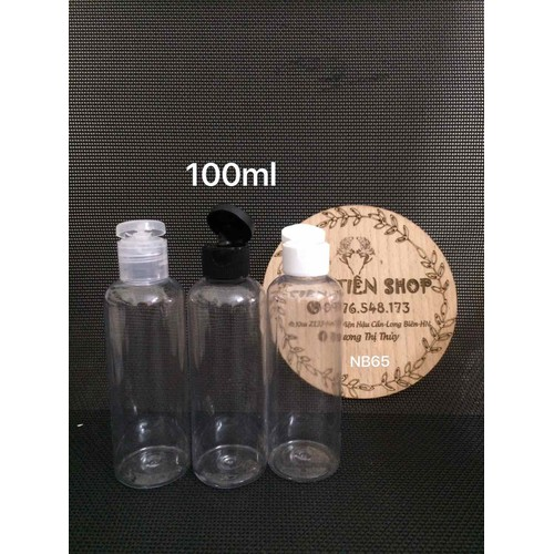 chai nhựa trong 100ml nắp bật - 7556447 , 17448463 , 15_17448463 , 13000 , chai-nhua-trong-100ml-nap-bat-15_17448463 , sendo.vn , chai nhựa trong 100ml nắp bật