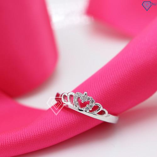 Nhẫn bạc nữ đẹp, nhẫn bạc nữ hình vương miện NN0191 - Trang Sức TNJ - 11525330 , 17438000 , 15_17438000 , 380000 , Nhan-bac-nu-dep-nhan-bac-nu-hinh-vuong-mien-NN0191-Trang-Suc-TNJ-15_17438000 , sendo.vn , Nhẫn bạc nữ đẹp, nhẫn bạc nữ hình vương miện NN0191 - Trang Sức TNJ
