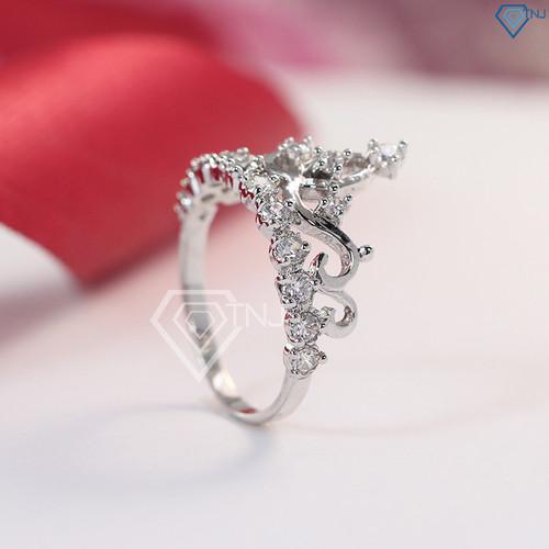Nhẫn bạc nữ mặt đá, nhẫn bạc nữ hình vương miện NN0151 - Trang Sức TNJ - 7672124 , 17452344 , 15_17452344 , 450000 , Nhan-bac-nu-mat-da-nhan-bac-nu-hinh-vuong-mien-NN0151-Trang-Suc-TNJ-15_17452344 , sendo.vn , Nhẫn bạc nữ mặt đá, nhẫn bạc nữ hình vương miện NN0151 - Trang Sức TNJ