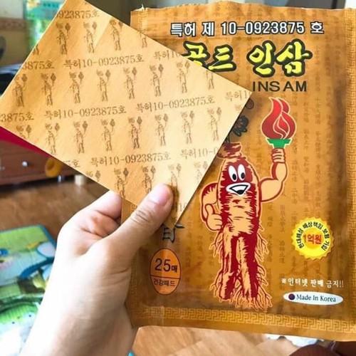 10 gói cao dán hồng sâm cao cấp Hàn Quốc, mỗi gói 25 miếng - 11526862 , 17442367 , 15_17442367 , 560000 , 10-goi-cao-dan-hong-sam-cao-cap-Han-Quoc-moi-goi-25-mieng-15_17442367 , sendo.vn , 10 gói cao dán hồng sâm cao cấp Hàn Quốc, mỗi gói 25 miếng