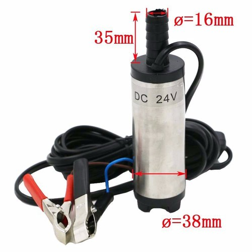 Máy bơm nước mini 24 volt kẹp acquy