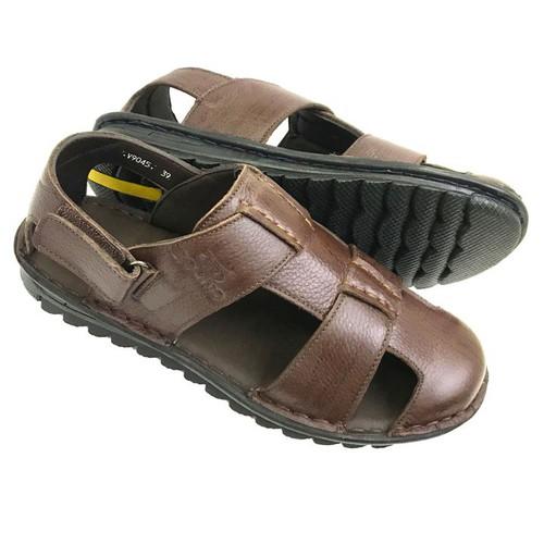 Giày sandal nam bít mũi da bò thật đế khâu chắc chắn AD138ND - 7555251 , 17441842 , 15_17441842 , 780000 , Giay-sandal-nam-bit-mui-da-bo-that-de-khau-chac-chan-AD138ND-15_17441842 , sendo.vn , Giày sandal nam bít mũi da bò thật đế khâu chắc chắn AD138ND
