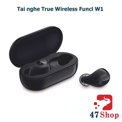 Tai nghe True Wireless Funcl W1 - Bluetooth - Cảm ứng chạm tay - TWHFUNW1