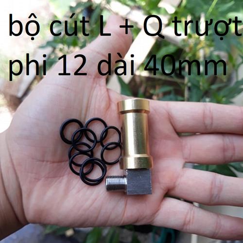 bộ cút L + Q đồng phi 12mm