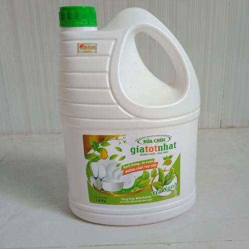 Nước rửa chén tinh dầu  trà xanh