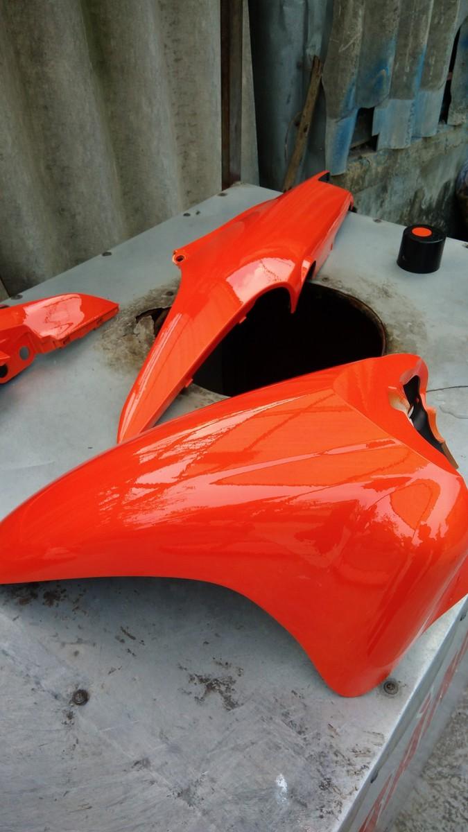 Y3505_ Chai sơn xịt  Samurai Y3505 màu cam rực   Vivid Orange  Yamaha shop uy tín, giao hàng nhanh, giá rẻ 10