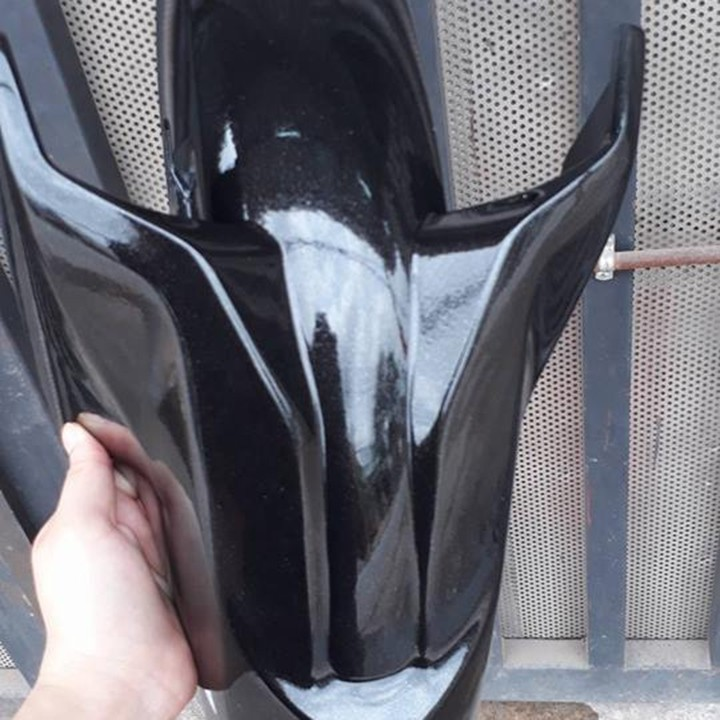 y81 _ Chai sơn xịt sơn xe máy Samurai Y81 _ màu đen ánh kim X _ Metallic X  _ uy tín, giao hàng nhanh, giá rẻ 7