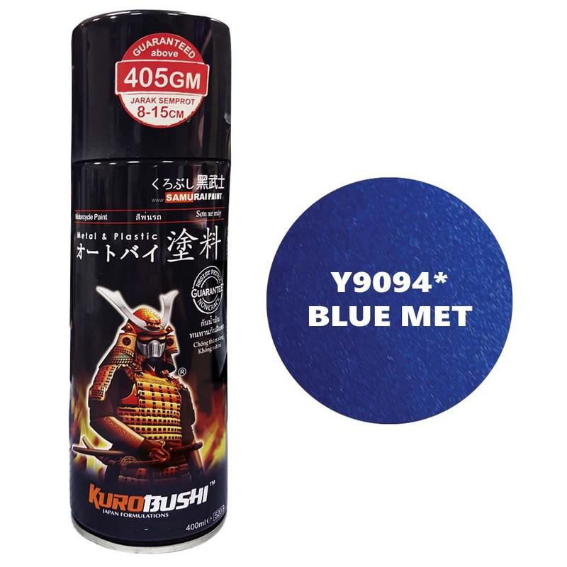 y9094 _ Chai sơn xịt Samurai Y9094 màu xanh kim loại Yamaha shop uy tín, giao hàng nhanh, giá rẻ 3